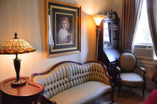 馬拉楊克錢伯斯住宿加早餐旅館 - 費城 - 客廳