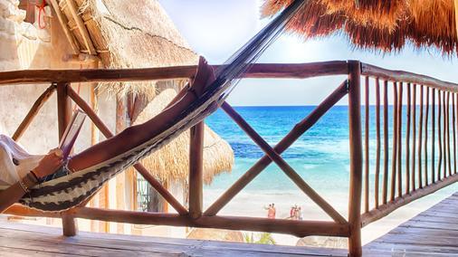 Playa Canek Beachfront Eco Hotel - Tulum - Balcony