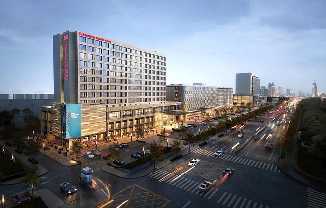 Hilton Garden Inn Shanghai Hongqiao - Shanghai - Building