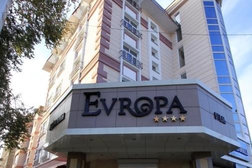 Evropa Hotel - Biškek - Rakennus