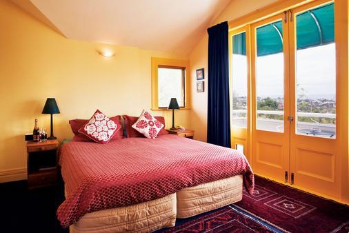 大龐森比藝術住宿加早餐旅館 - 奧克蘭 - 臥室