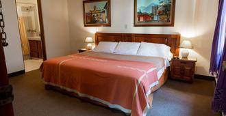Hotel San Jorge - Antigua - Bedroom