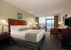 Days Inn by Wyndham Virginia Beach At The Beach - Virginia Beach - Bedroom