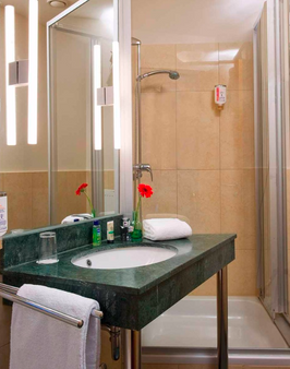 柏林庫坦大街迎賓酒店 - 柏林 - 柏林 - 浴室