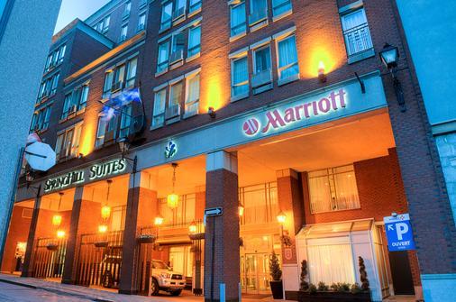 蒙特婁老城區萬豪春季山丘套房酒店 - 蒙特利爾 - 蒙特婁 - 建築