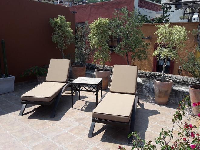 Hotel Casa Correo - San Miguel de Allende - Βεράντα