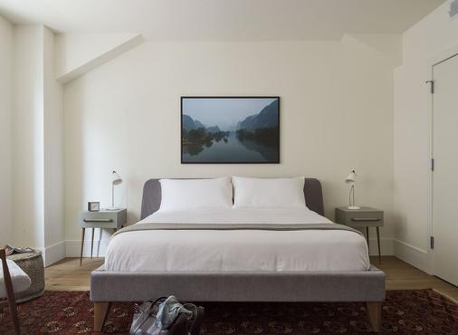 羅斯特公寓酒店 - 費城 - 費城 - 臥室