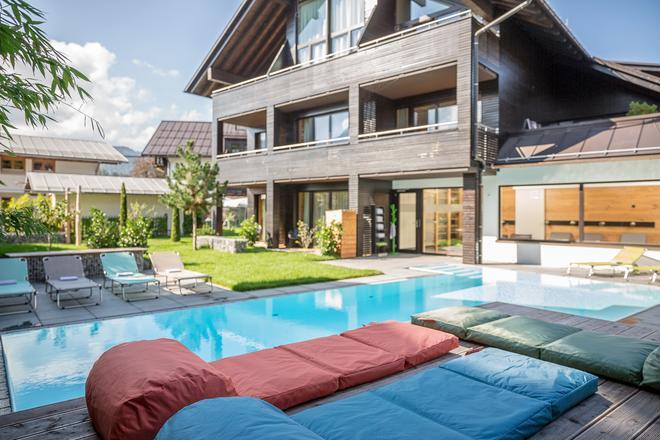 Das Freiberg Romantik Hotel - Oberstdorf - Pool