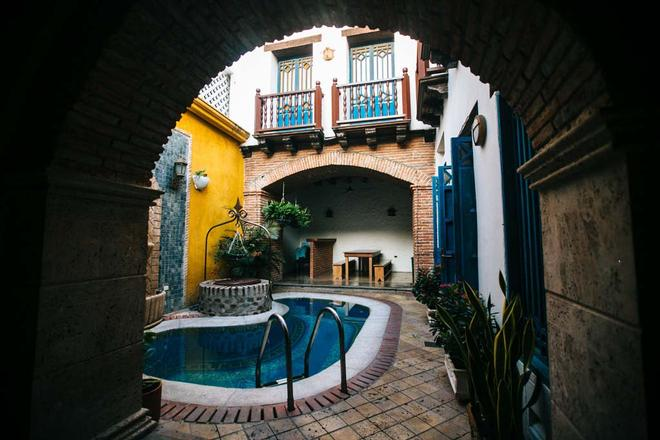El Genoves Hostal - Cartagena de Indias - Piscina