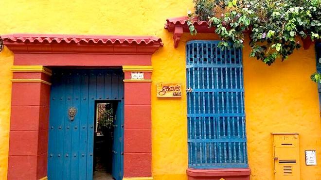 El Genoves Hostal - Cartagena de Indias - Vista del exterior