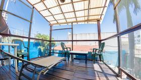 斯波特海灘青年旅舍 - 普拉亞卡門 - 陽台