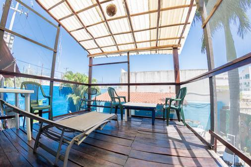 Hostel Playa by the Spot - Playa del Carmen - Parveke
