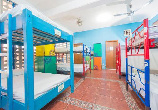 Hostel Playa by the Spot - Playa del Carmen - Makuuhuone