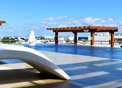 靈魂海灘精品 Spa 飯店 - 普拉亞卡門 - 露天屋頂