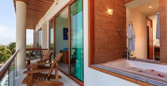 Aquastar Hotel & Apartments - Majahual - Balcony