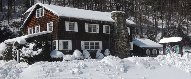 Turn of River Lodge - Killington - Rakennus