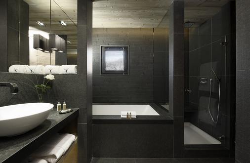 Hôtel Alpaga - Megève - Bathroom