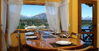 Charming Luxury Lodge & Private Spa - San Carlos de Bariloche - Ruokailuhuone
