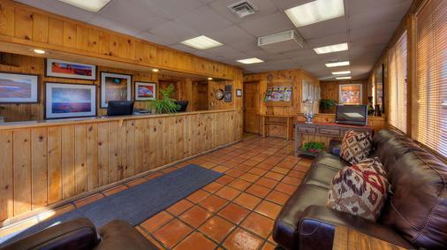 Big Horn Lodge - Moab - Front desk