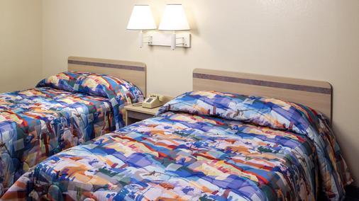 北沃思堡6號汽車旅館 - 沃思堡 - 臥室