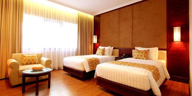 卡迪卡展特拉酒店 - 雅加達 - 南雅加達 - 臥室