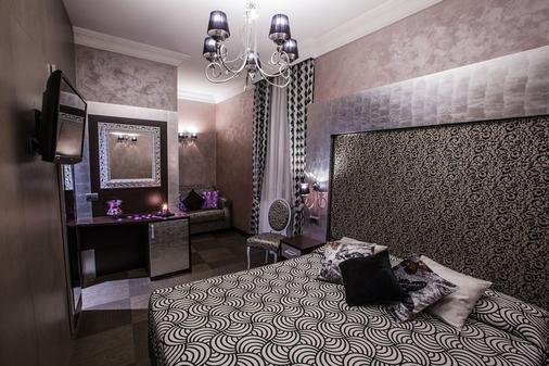 羅馬諾酒店 - 羅馬 - 羅馬 - 臥室