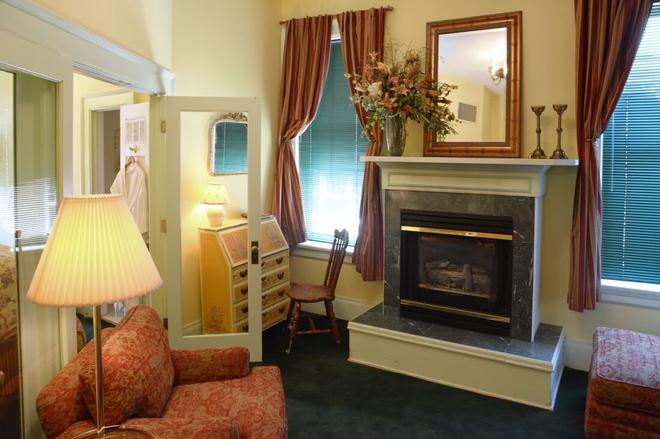 Capitol Hill Mansion Bed and Breakfast Inn - Denver - Living room