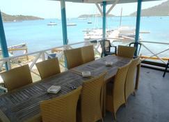 The Lodge - Antigua - English Harbour - Balkon