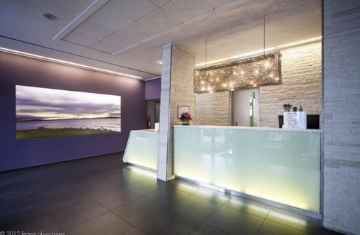Arli Hotel Business and Wellness - Bergamo - Front desk