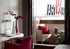 Art Hotel Museo - Prato - Habitación