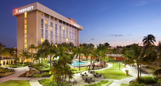 Miami Airport Marriott - Miami - Building