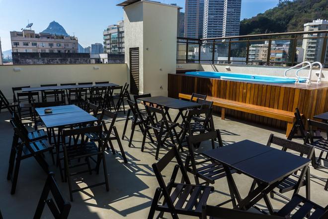 Vertical Hostel - Rio de Janeiro - Parveke