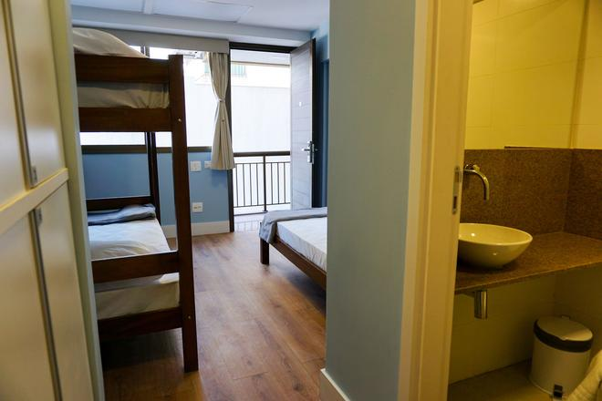 Vertical Hostel - Rio de Janeiro - Makuuhuone