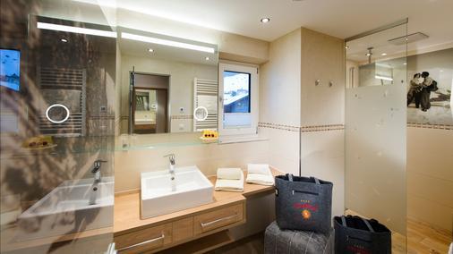 Sport Vital Hotel Central - Tux-Vorderlanersbach - Phòng tắm