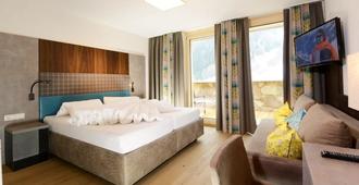 Hotel Nassereinerhof - Санкт-Антон-ам-Арльберг - Спальня