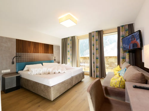 Hotel Nassereinerhof - Sankt Anton am Arlberg - Phòng ngủ