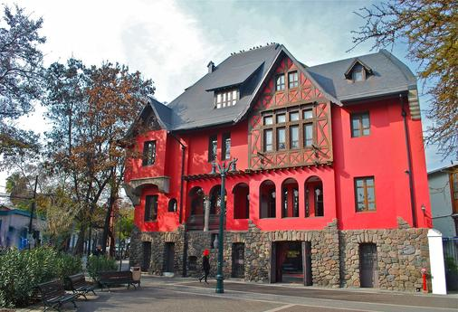 Hotel Boutique Castillo Rojo - Santiago - Toà nhà