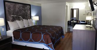 Super 8 by Wyndham Asheville/Biltmore - Asheville - Bedroom