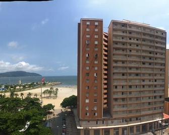 恩佩拉多酒店 - 聖多斯 - 桑托斯 - 陽台