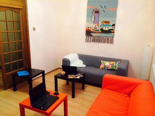 Friday Hostel - Moscou - Sala de estar