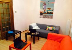 Friday Hostel - Moscou - Sala de estar