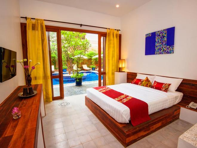House Boutique Eco Hotel - Phnom Penh - Bedroom