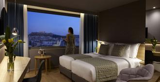 Wyndham Grand Athens - אתונה - חדר שינה