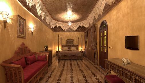 Riad Mumtaz Mahal - Essaouira - Κρεβατοκάμαρα