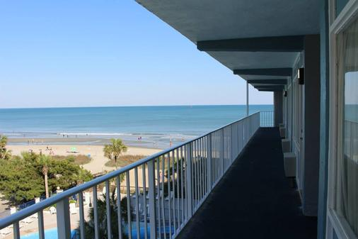 Blu Atlantic Oceanfront Hotel & Suites - Myrtle Beach - Balcony