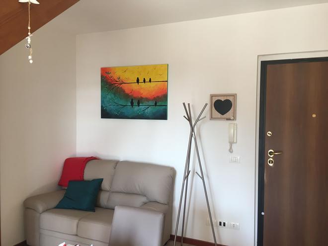 Alla Salute Apartments - Verona - Living room