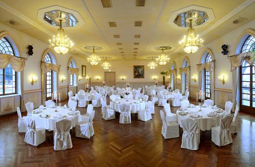 Romantik Hotel Burgkeller & Residenz Kerstinghaus - Meissen - Banquet hall