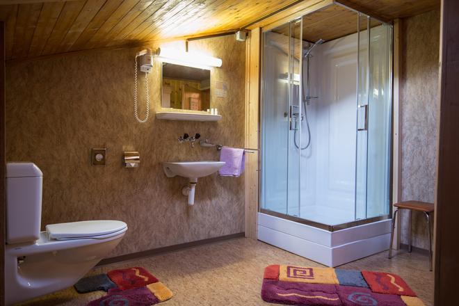 Hotel Restaurant Bergheim - Flums - Bathroom