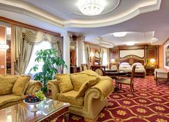 Izmailovo Alfa Hotel - Moskova - Makuuhuone