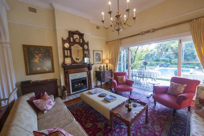 Hacklewood Hill Country House - Πορτ Ελίζαμπεθ - Σαλόνι